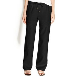 Michael Kors black linen pants
